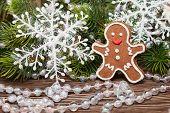 Traditiona Christmasl Cookie Man