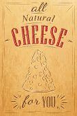 Poster cheese kraft