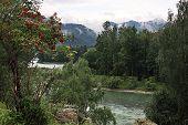 The mountain river Katun.