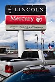 Ford Lincoln Mercury Dealership Sign