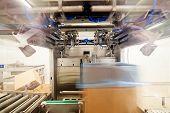 foto of frozen food  - frozen food packing and sorting industry equipment - JPG