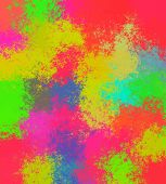 picture of brighten  - A Colorful wet paint background with unique pattern - JPG