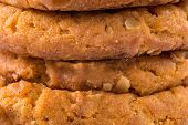 Closeup Shot Of Cookies