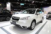 Bangkok - November 28: Subaru Forester 2.8I-l Car On Display At The Motor Expo 2014 On November 28,