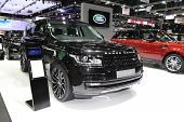 Bangkok - November 28: Range Rover Car On Display At The Motor Expo 2014 On November 28, 2014 In Ban