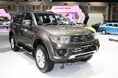 Bangkok - November 28: Mitsubishi Pajero Sport Car On Display At The Motor Expo 2014 On November 28,