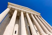 pic of supreme court  - Supreme Court of United states building in Washington DC - JPG