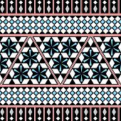 picture of tribal  - Tribal Seamless Pattern - JPG