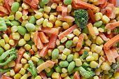 pic of frozen  - Frozen vegetables - JPG