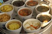 Steamed Veggie Dishes Bangkok,Thailand