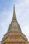Постер, плакат: Temple Wat Pho In Bangkok Thailand