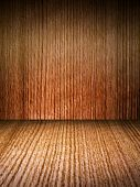 Wooden Walls And Flooring