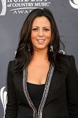 LAS VEGAS - APR 3:  Sara Evans arrives at the Academy of Country Music Awards 2011 at MGM Grand Garden Arena on April 3, 2010 in Las Vegas, NV.