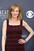 LAS VEGAS - APR 3:  Marg Helgenberger arriving at the Academy of Country Music Awards 2011 at MGM Gr