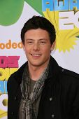 LOS ANGELES - APR 2:  Cory Monteith arrives at the 2011 Kids Choice Awards at Galen Center, USC on April 2, 2011 in Los Angeles, CA