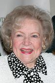 LOS ANGELES - APR 9:  Betty White in the green room of
