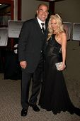LOS ANGELES - APR 15:  Tito Ortiz, Jenna Jameson attending the 2011 Toyota Grand Prix Charity Ball a