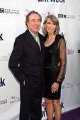 LOS ANGELES - APR 26:  Eric Idle and Wife arriving at the 5th Annual BritWeek Launch Party at Britis