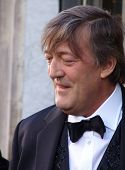 REGENT STREET, LONDON, UK - MAY 11: Stephen Fry the actor and TV presenter at launch of new product