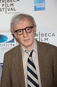 NEW YORK - APRIL 22: Director Woody Allen attends the premiere of 'Whatever Works' during the Tribec