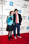 NEW YORK - APRIL 23: Kubilay Uner with guest  attends the at the premiere of 'Stay Cool'  Tribeca F