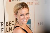 NEW YORK - APRIL 23: Actress Hilary Duff attends the 8th Annual Tribeca Film Festival 'Stay Cool' pr