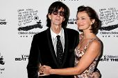 NEW YORK -  DECEMBER 6:  Ric Ocasek; Paulina Porizkova  attend  the 20th Anniversary Celebration Of The Children's Defense  at Guastavino`s  on December 6, 2010 in New York.