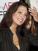 HOLLYWOOD, CA. - NOVEMBER 3: Alex Meneses attends the AFI fest premier of Everybody's Fine on Novemb