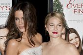 HOLLYWOOD, CA. - NOVEMBER 3: Kate Beckinsale (L) and Drew Barrymore (R) attend the AFI Fest premier of Everybody's Fine on November 3, 2009 at The  Grauman's Chinese Theater in Hollywood.