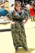 LOS ANGELES - JUN-27: Kaycee Stroh kommt in die schändliche mich Premiere im Nokia-Theater am Jun