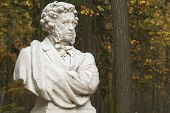 Monument To Great Russian Writer And Poet A.S.Pushkin