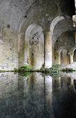 San Gimignano medieval fountain