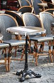 Caf�?�© terrace in Paris