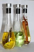 Coloured Cooking Oils