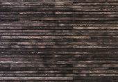 picture of arriere-plan  - Dark wooden wall - JPG