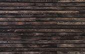 Parede de madeira escura, perfeita como plano de fundo ou textura