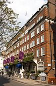 LONDON, UK - APRIL 20: the Goring Hotel where Miss Catherine Middleton, and her immediate family, will spend the night before the Royal Wedding of April 29, April 20, 2011 in London, United Kingdom