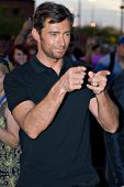 TEMPE, AZ - APRIL 27: Actor Hugh Jackman appears at the premiere of X-Men Origins: Wolverine on Apri