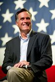 MESA, AZ - JUNE 4: Former Massachusetts Governor Mitt Romney appears at a town hall meeting on June