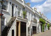 Trendy london street