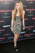 HOLLYWOOD, CA. - NOV 21: Avril Lavigne arrives at the 2010 American Music Awards Rolling Stone Magazine VIP After Party at Rolling Stone Restaurant & Lounge on November 21, 2010 in Hollywood, Ca.