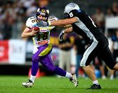 European Football League Championship Game - Tirol Raiders playing against the Vienna Vikings - July