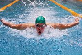 Vienna, Austria - November 29 2008; 400 swimmers from 12 nations take part in the 35th Stroeck Austr