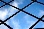 Blue Sky Out A Window