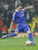 John Terry at the Champions League Final held at Luzhniki Stadium Moscow 21 May 2008 and contested b