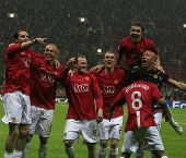 Champions League Final held at Luzhniki Stadium Moscow 21 May 2008 and contested by Manchester Unite