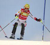 St. Anton Austria, 22. Dezember Marlies Schild Österreich im Wettbewerb im Audi Fis alpine Ski World Cup e
