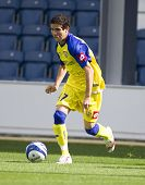 LONDON, UK AUGUST 2, Diego Farias at the pre-season friendly football match between QPR and Chievo,