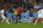 INNSBRUCK - JUNE 10: Cesc Fabregas Spain Football National Team during the match Spain-Russia 4:1 Euro2008 Group D. Fabregas scored the last goal. June 10, 2008, in Innsbruck, Austria