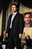KAPOSVAR, HUNGARY - MARCH 24: Attila Mesterhazy, Hungarian Socialist Party's prime ministerial candi